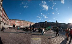 Plaza Mayor - Panoramic by chem-graph