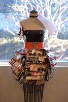 Recycle Dress Project by fishnetsandplaid