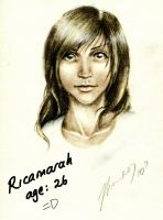 Ricamarah at age 26 by waterpieces