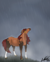 Stand in the Rain by threefourthsginger