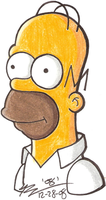 Homer Simpson by Vega-Three