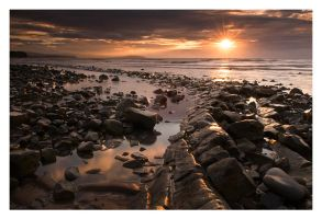 Kilve Sunset by Neutron2K