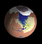 Cavorite Mars Globe View by IainFluff