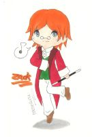 [Zack and Ombra] Chibi Zack by irenereru