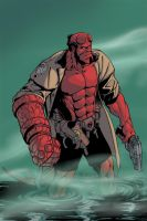Hellboy by DanGlasl