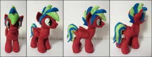 Plushie: Stallion OC - My Little Pony: FiM by Serenity-Sama