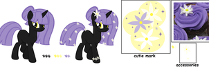 Purple Cupcake Pony Auction 2 by MAPSpony
