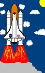 Space Shuttle Menelaus by MrMenelausRedz
