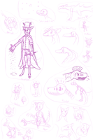 Yet Another Sketch Dump by Dreyfus2006