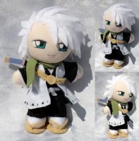 Commission, Mini Plushie Toshiro Hitsugaya by ThePlushieLady