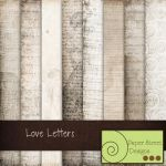 Love letters-paper street by paperstreetdesigns