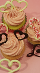 Be My Valentine Cupcakes by SweetDreamsCreations