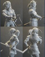 Sculpey - Capt. Close-up UP by capnkupo