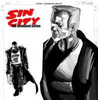 Sin City TAS: Marv by mattwileyart