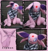 espeon plush by re-flamed