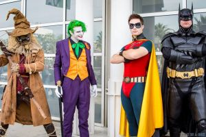 Some Smilex members at LBCC 2013 by SmilexVillainco