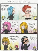 Pick up Lines for Larxene pg 2 by The-Hikari-Within