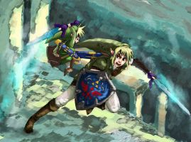 Link vs. Link by evelmiina
