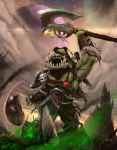 Grommloc - Warlords of Draenor fan art. by d1eselx