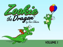 Zookie Volume 1 Front Cover by ZookieDragon