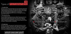 Types of Photographers in facebook by djati