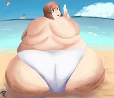 Double(-wide) Yukiho on the Beach! by TB-Arts