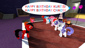Happy B-Day Kurtis and Chaos by mRcracer