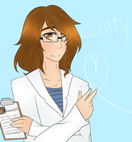 Scotty The scientists by PlayDeadYo