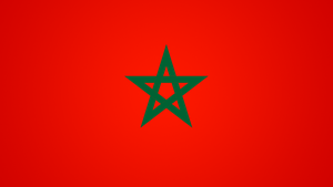 Flag Morocco by Aminebjd