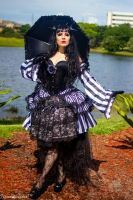 Take a stroll with me and my parasol by Lovelyrosevampress