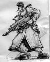 Imperial Guard Rifleman by StugMeister