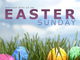 Generic Easter Promo Slide by Treybacca