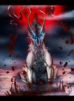 Forever Stain of Blood|Wolf Dragon| by Shinju-Tsukuda