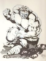 Hulk by Sergio Cariello by Parallel1980
