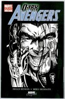 MARVEL COMICS HOMAGE COVER DARK AVENGER INKED by U-D0NT-KN0W-ME