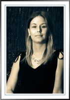 Lindsey - Portrait in Blue by Tiberius47