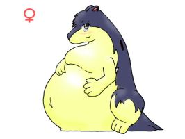 bulky typhlosion by chad-0z