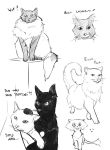 Doodly Doodles #8 - Cats by Yhil-Soigeek
