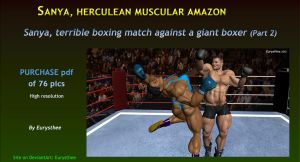 Sanya, terrible boxing match against a giant -2 by eurysthee