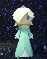 Rosalina Papercraft by sgonzales22
