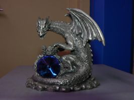 Stock-Pewter Dragon2 by Deaths-stock