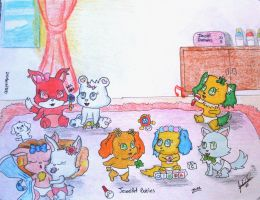 Jewelpet Babies by davidcool1989