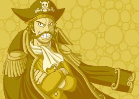 -King of the Pirates- Gol D. Roger by Erk-kun