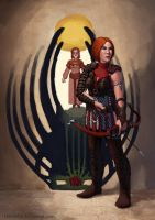 DA:O Heroes of the Fifth Blight: Leliana by Darantha