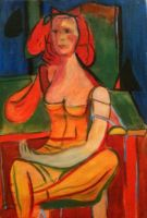 De Kooning's Seated Woman by center555