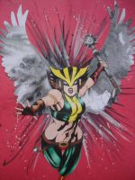 Hawkgirl by LackadaisicalCat