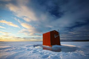 Ice Shack at Harmony Bay by tfavretto