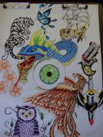 Tattoo Flash by jmitch90