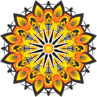 Mandala Yellow by Viscious-Speed