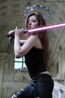Mara Jade in Turin by Darthsandr